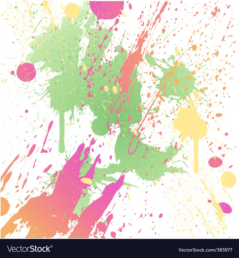Grungy design colorful blot element vector | Price: 1 Credit (USD $1)