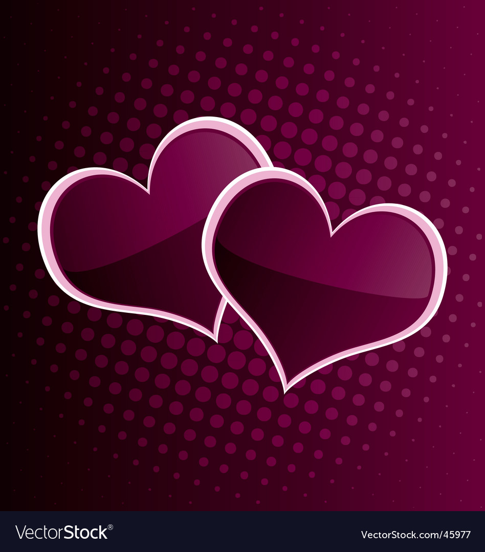Valentine's hearts vector | Price: 1 Credit (USD $1)