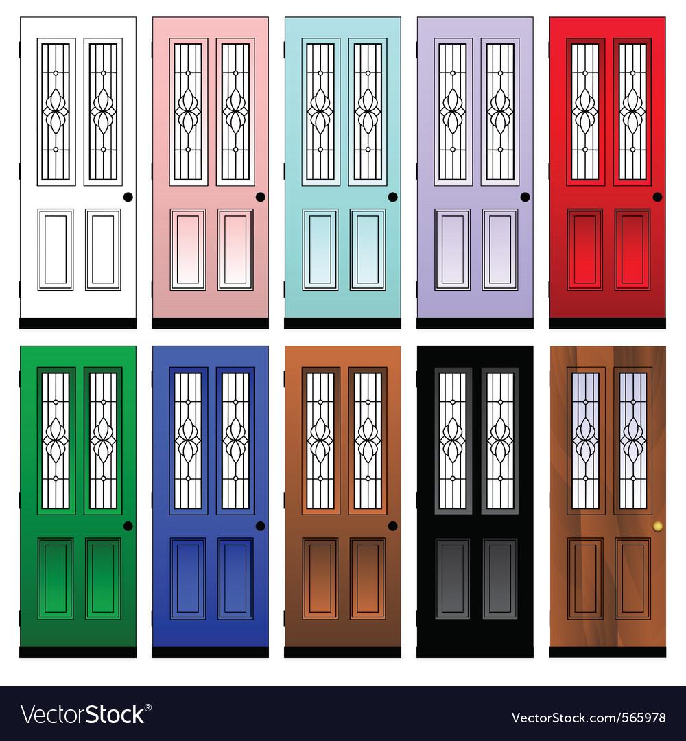 Doors vector | Price: 1 Credit (USD $1)
