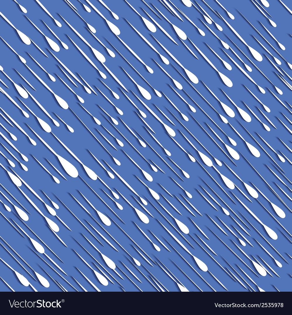 Rain seamless background vector | Price: 1 Credit (USD $1)