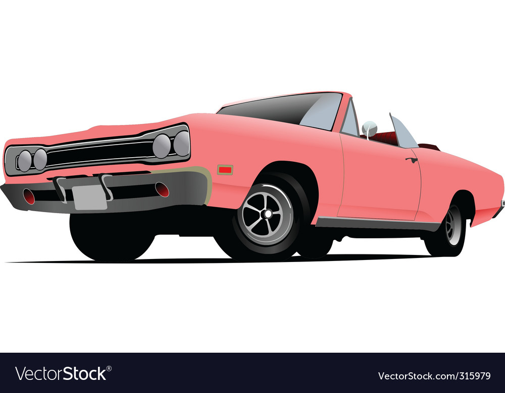 Convertible vector | Price: 3 Credit (USD $3)