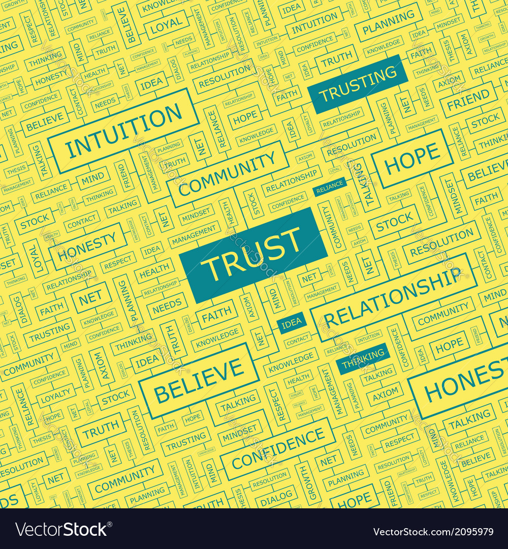 Trust vector | Price: 1 Credit (USD $1)