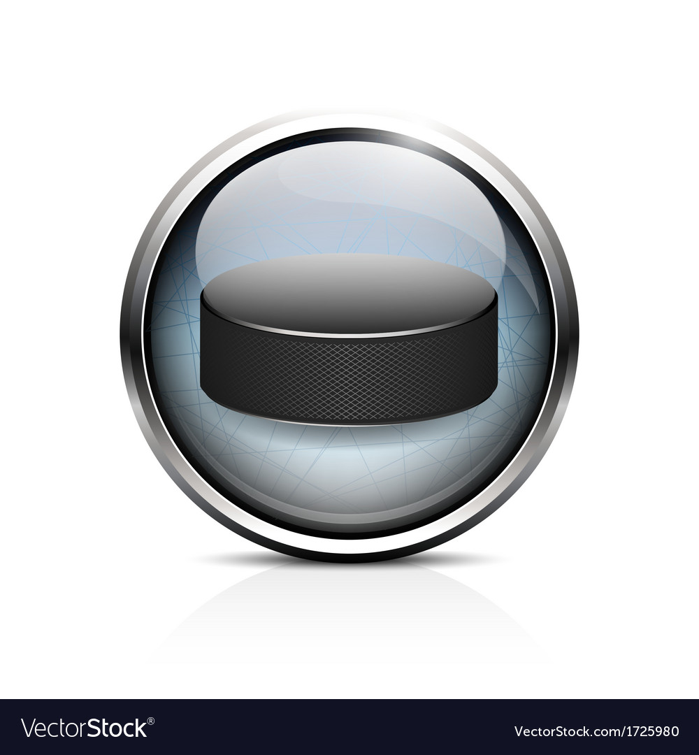 Hockey puck icon vector | Price: 1 Credit (USD $1)