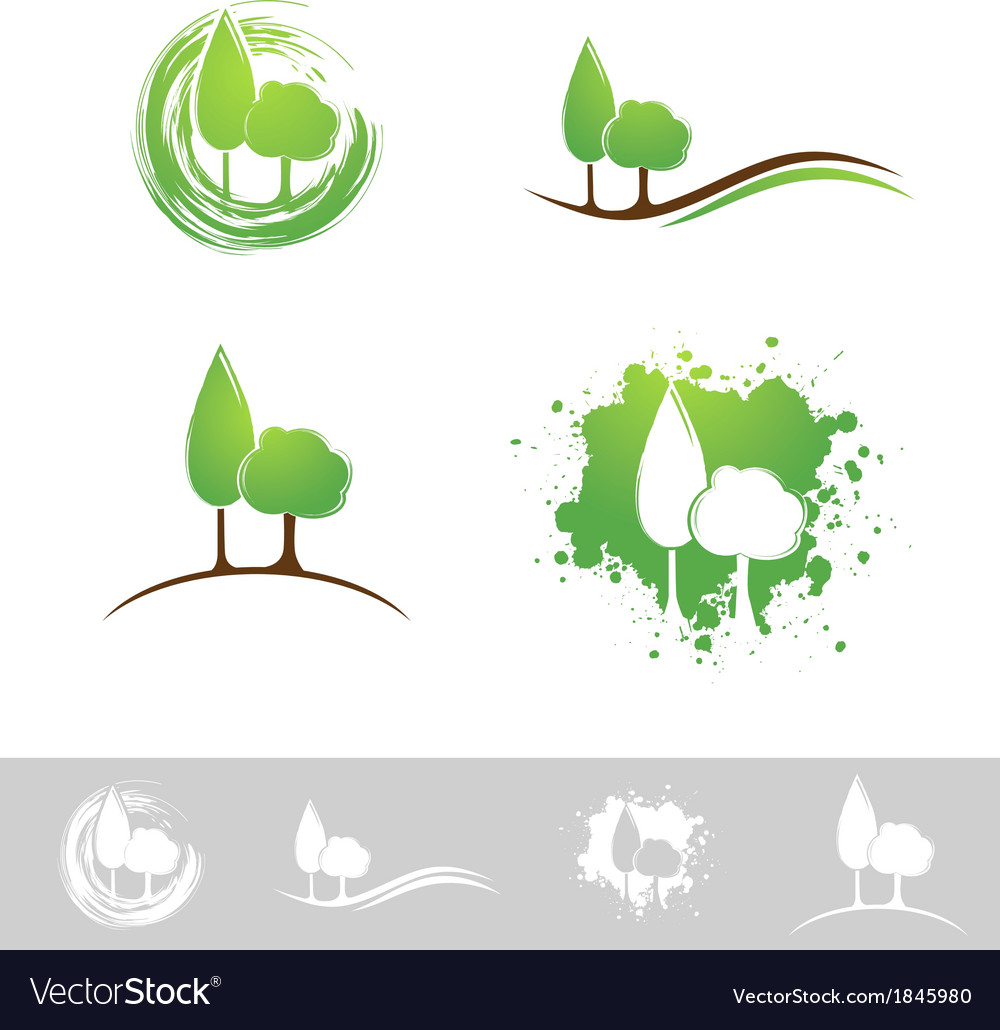 Landscape abstract design vector | Price: 1 Credit (USD $1)