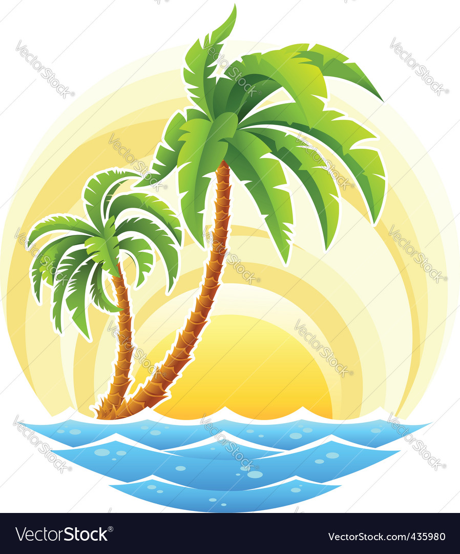Tropical palm vector   Price: 3 Credit (USD $3)