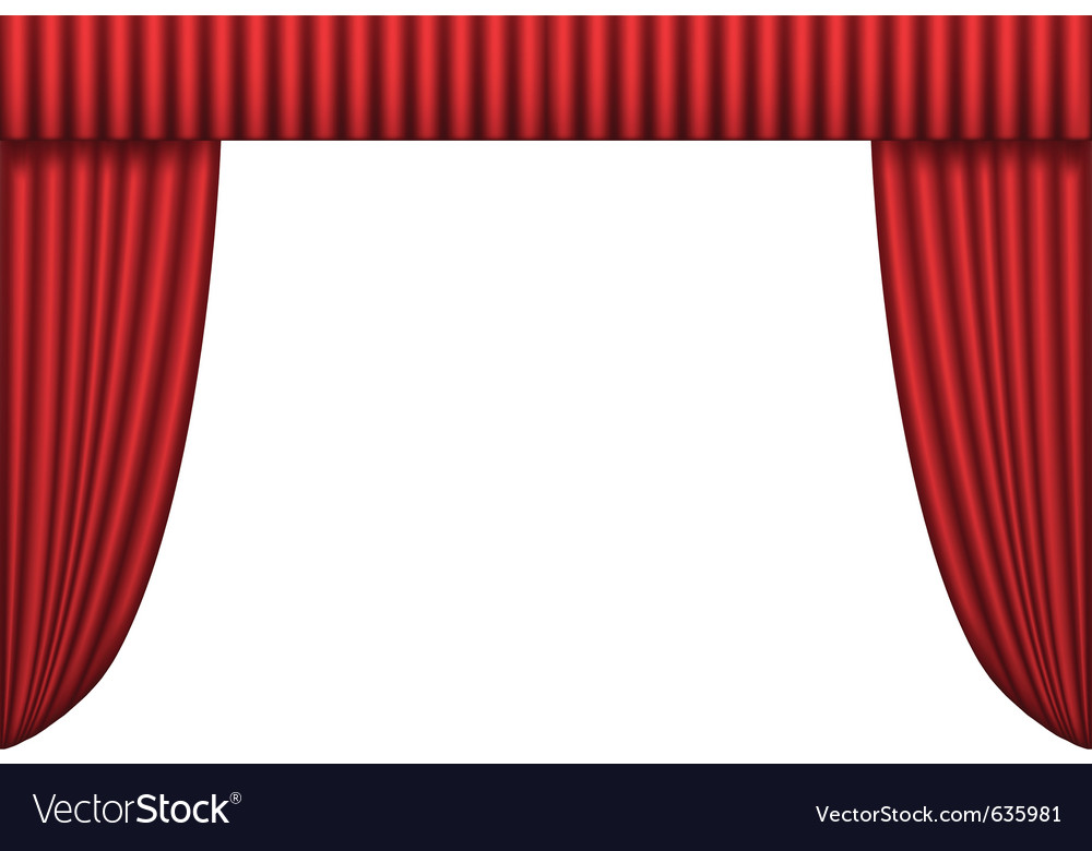 Ter curtain vector | Price: 1 Credit (USD $1)