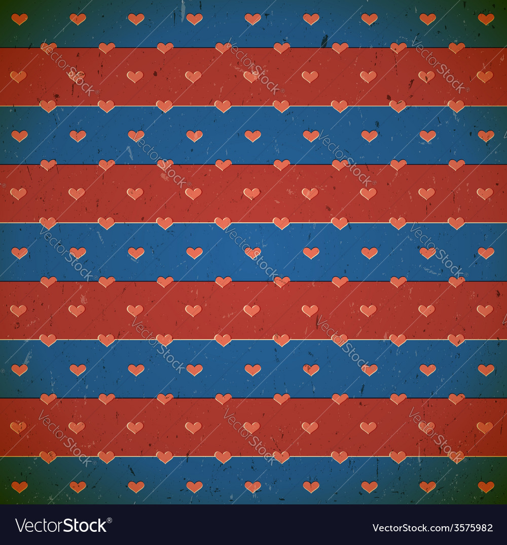 Cardboard print with hearts vector   Price: 1 Credit (USD $1)