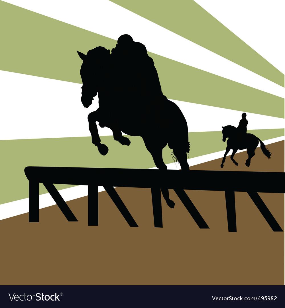 Equestrian vector | Price: 1 Credit (USD $1)