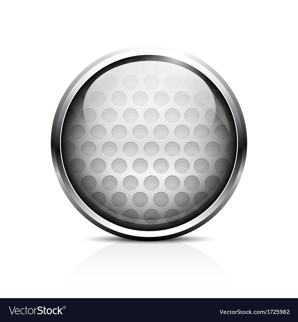 Golf ball icon vector   Price: 1 Credit (USD $1)