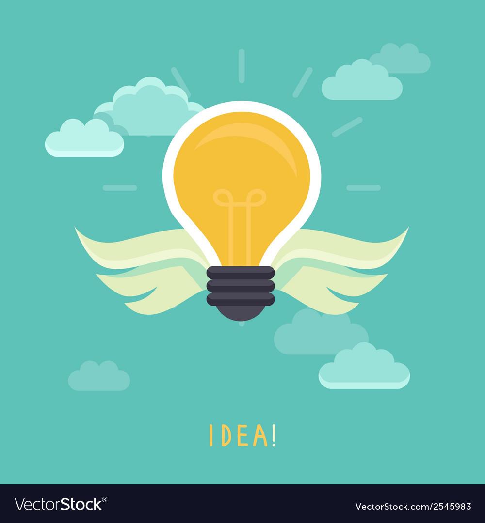Creative idea concept vector | Price: 1 Credit (USD $1)