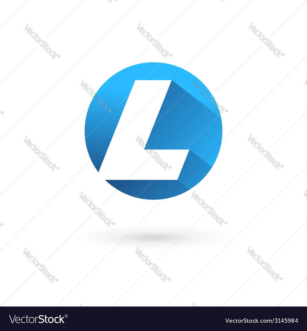 Letter l logo icon vector | Price: 1 Credit (USD $1)