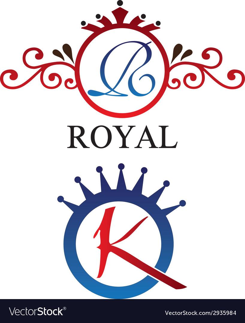 Royal logo vector | Price: 1 Credit (USD $1)