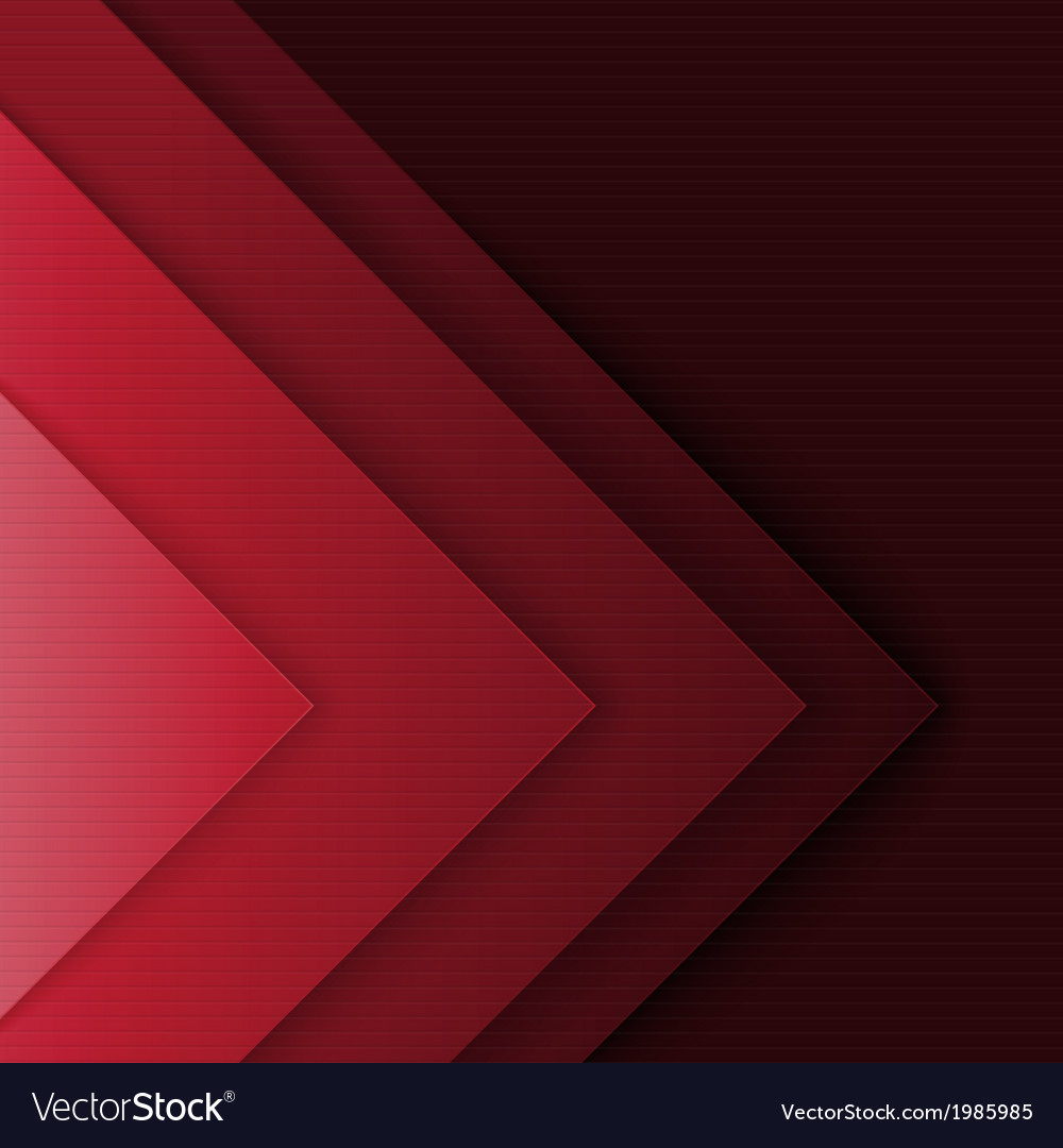 Abstract red and black triangle shapes background vector | Price: 1 Credit (USD $1)