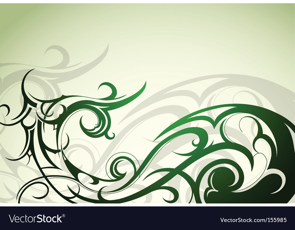 Nature floral vector | Price: 1 Credit (USD $1)