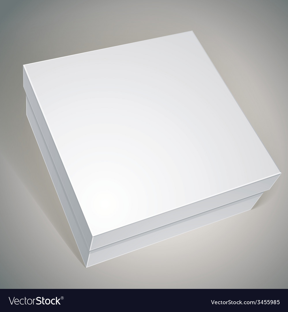 Package white box design template for your package vector   Price: 1 Credit (USD $1)