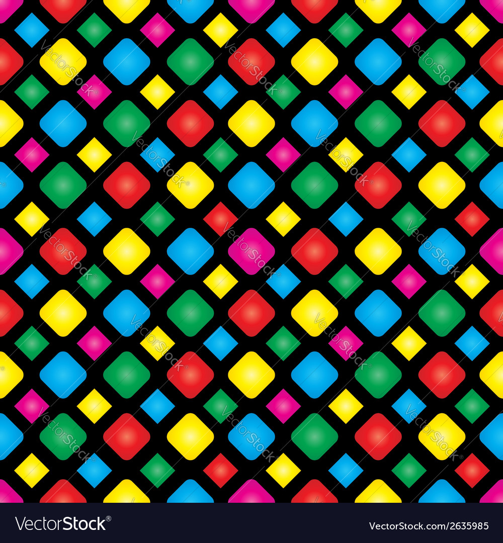 Seamless background with squares 2 vector | Price: 1 Credit (USD $1)