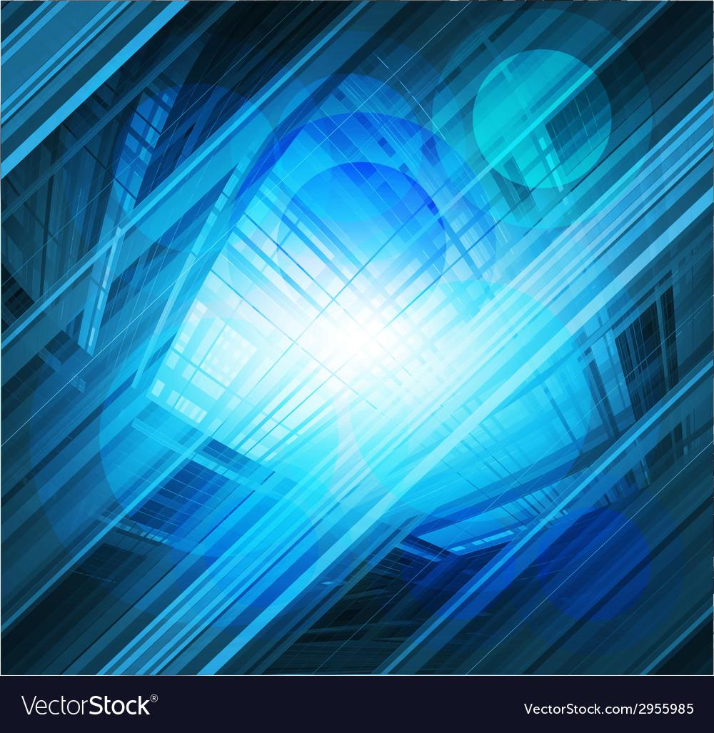 Virtual technology blue background burst li vector   Price: 1 Credit (USD $1)