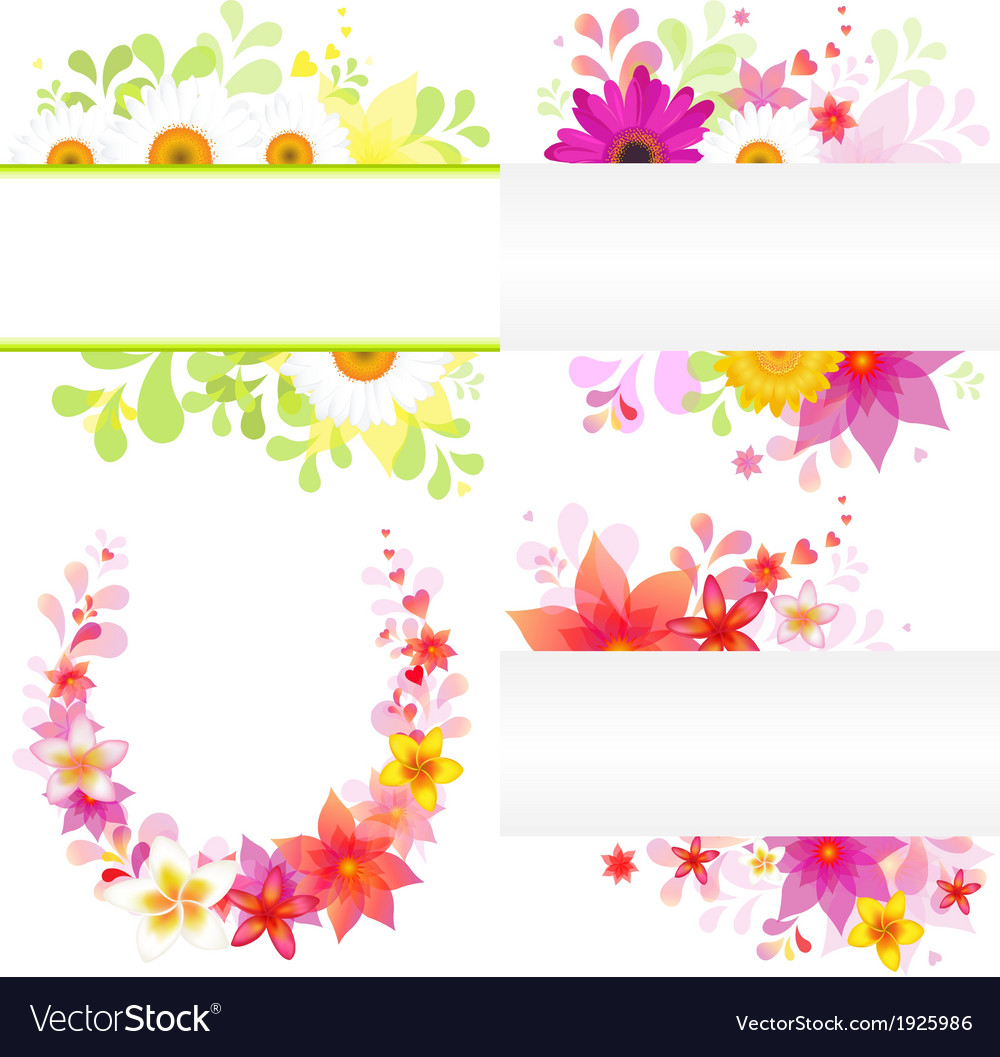 Floral background vector | Price: 1 Credit (USD $1)