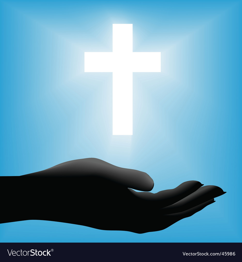 Religious cross vector | Price: 1 Credit (USD $1)