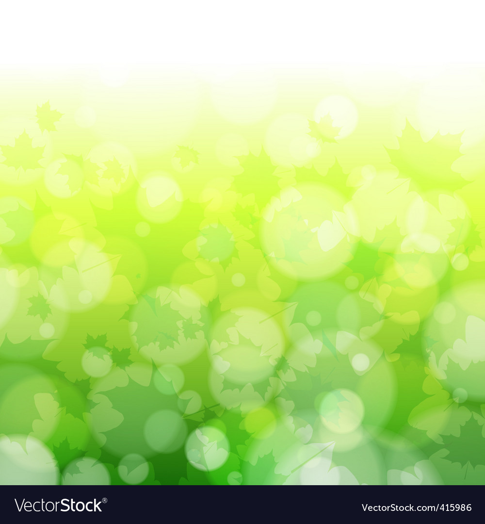 Spring forest bokeh vector   Price: 1 Credit (USD $1)