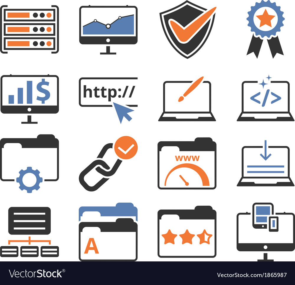 Seo web development pack vector | Price: 1 Credit (USD $1)