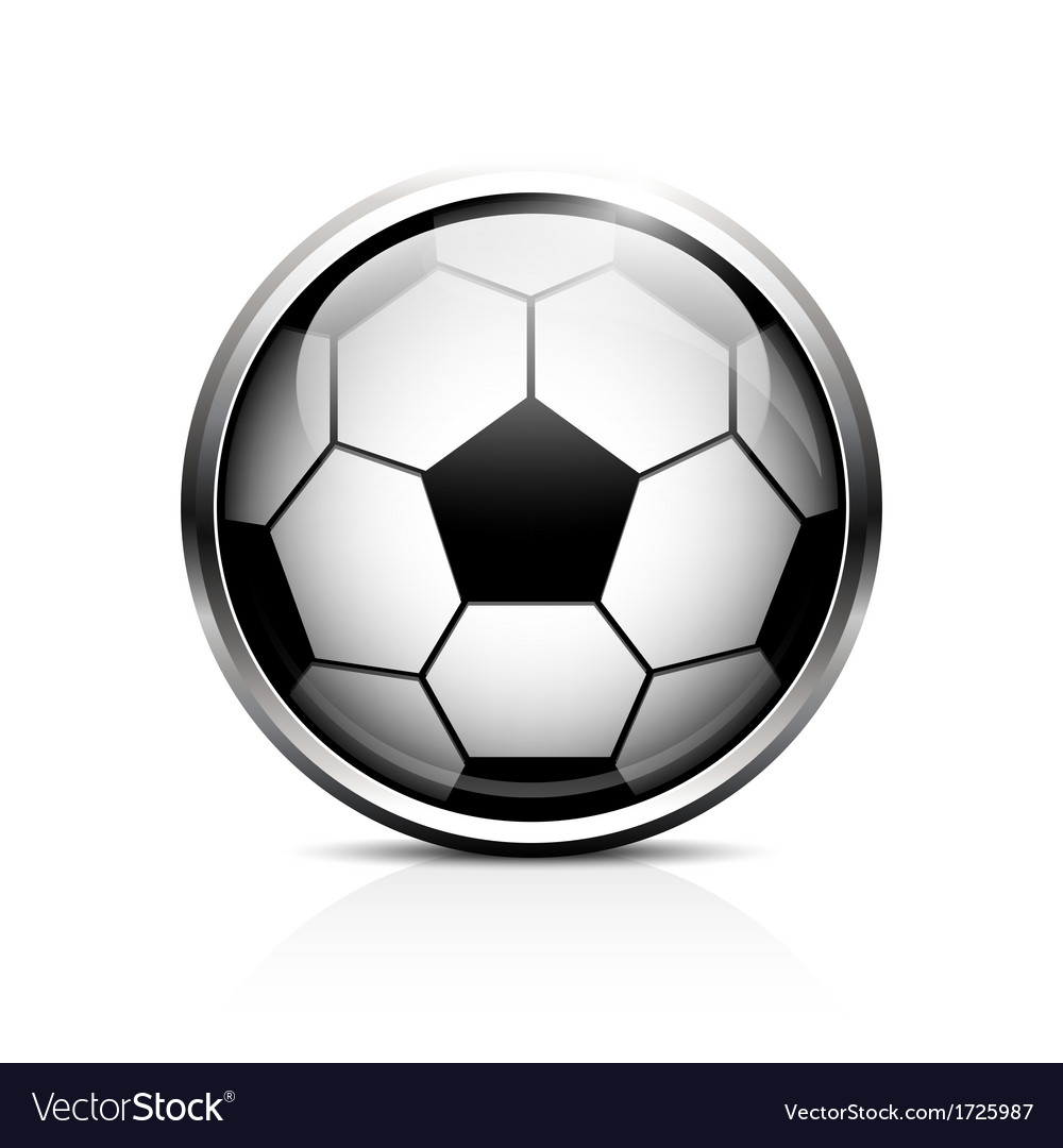 Soccer ball icon vector | Price: 1 Credit (USD $1)