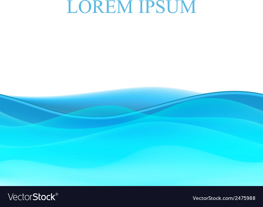 Abstract seamless wave background vector   Price: 1 Credit (USD $1)