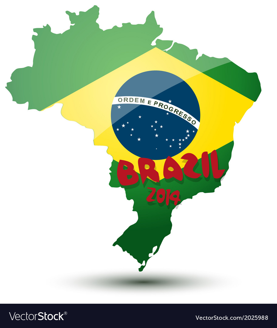 Brazil world cup design vector | Price: 1 Credit (USD $1)