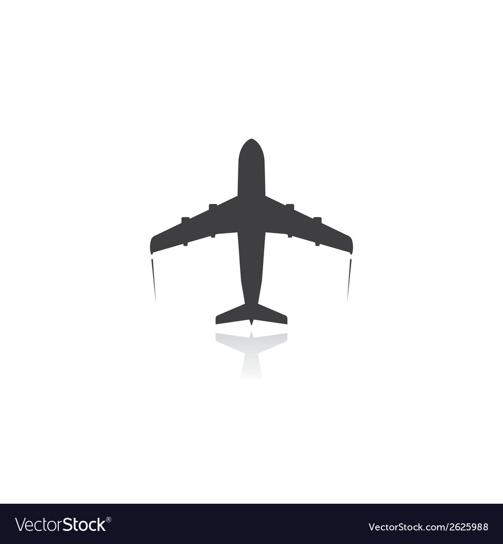Plane icon vector | Price: 1 Credit (USD $1)