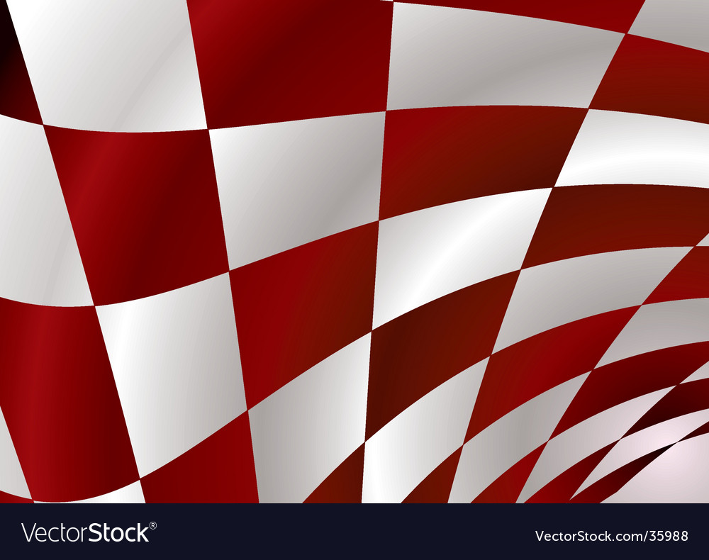 Red checker vector | Price: 1 Credit (USD $1)