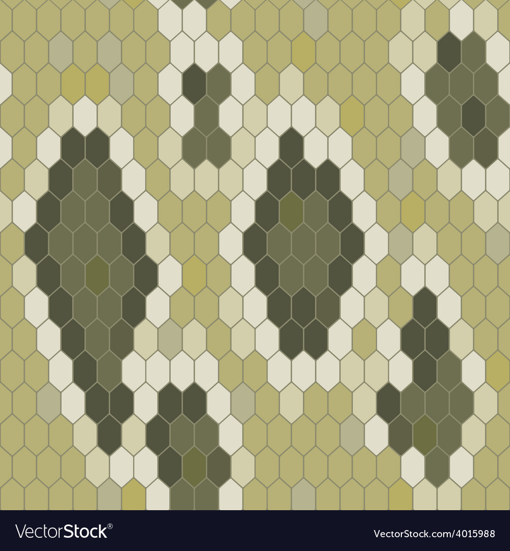 Snake skin texture seamless pattern python vector | Price: 1 Credit (USD $1)