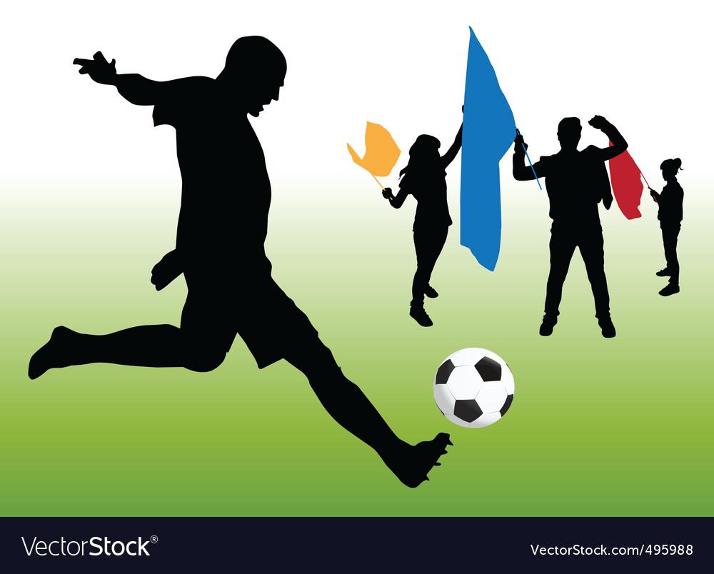 Soccer fun vector | Price: 1 Credit (USD $1)