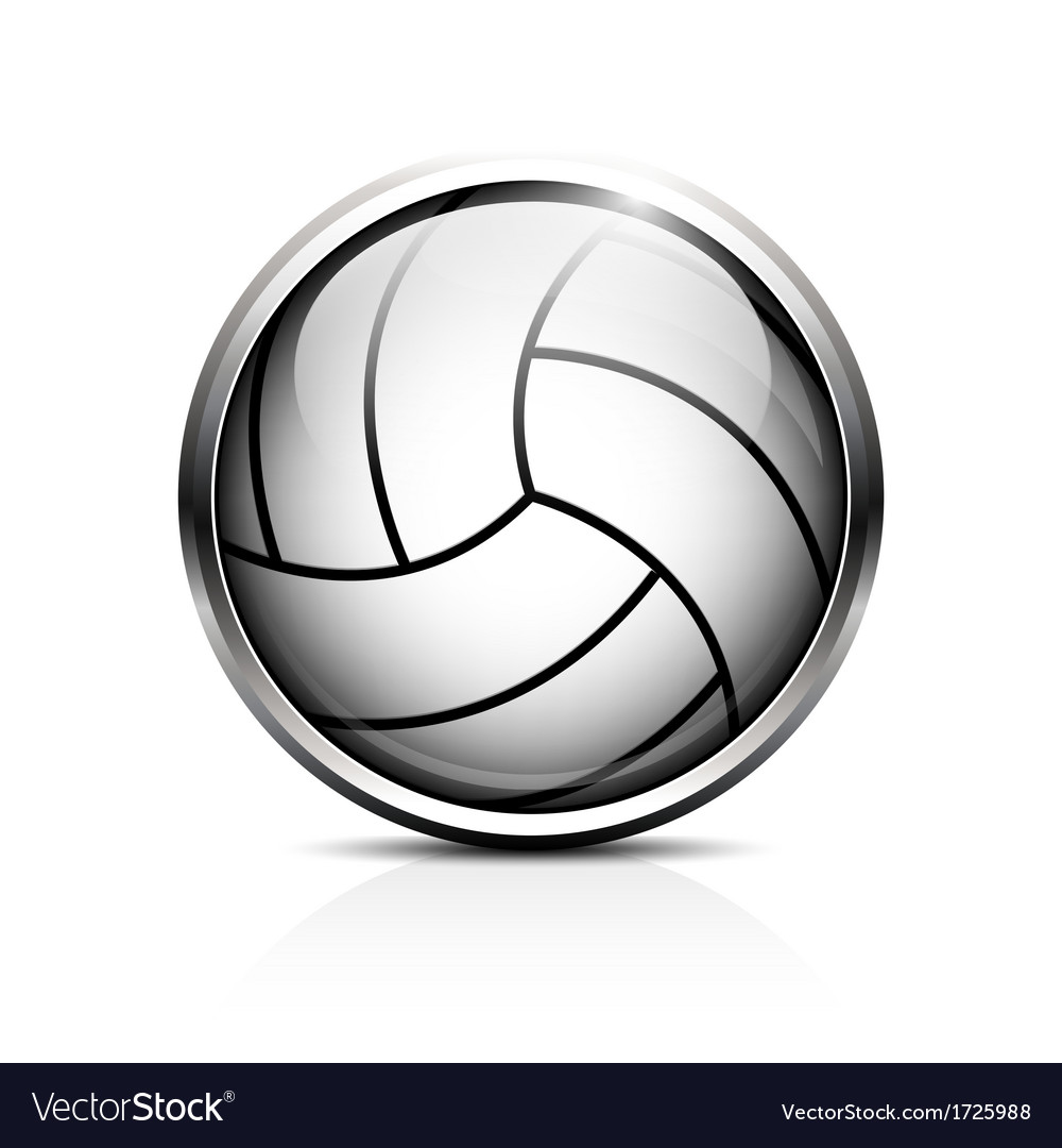 Volleyball icon vector | Price: 1 Credit (USD $1)