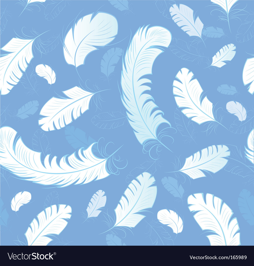 Abstract feathers background vector | Price: 1 Credit (USD $1)