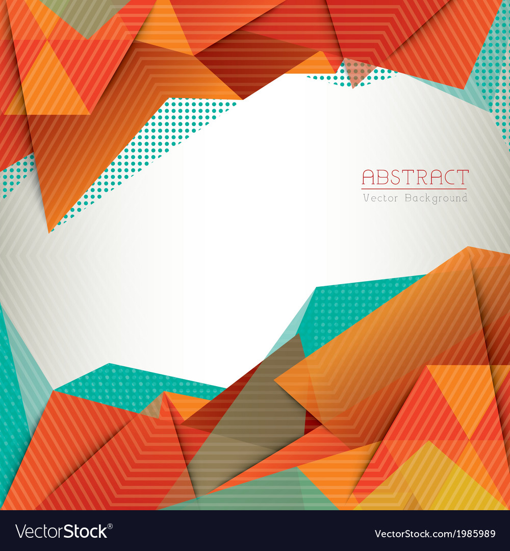 Abstract triangle shape background layout vector | Price: 1 Credit (USD $1)