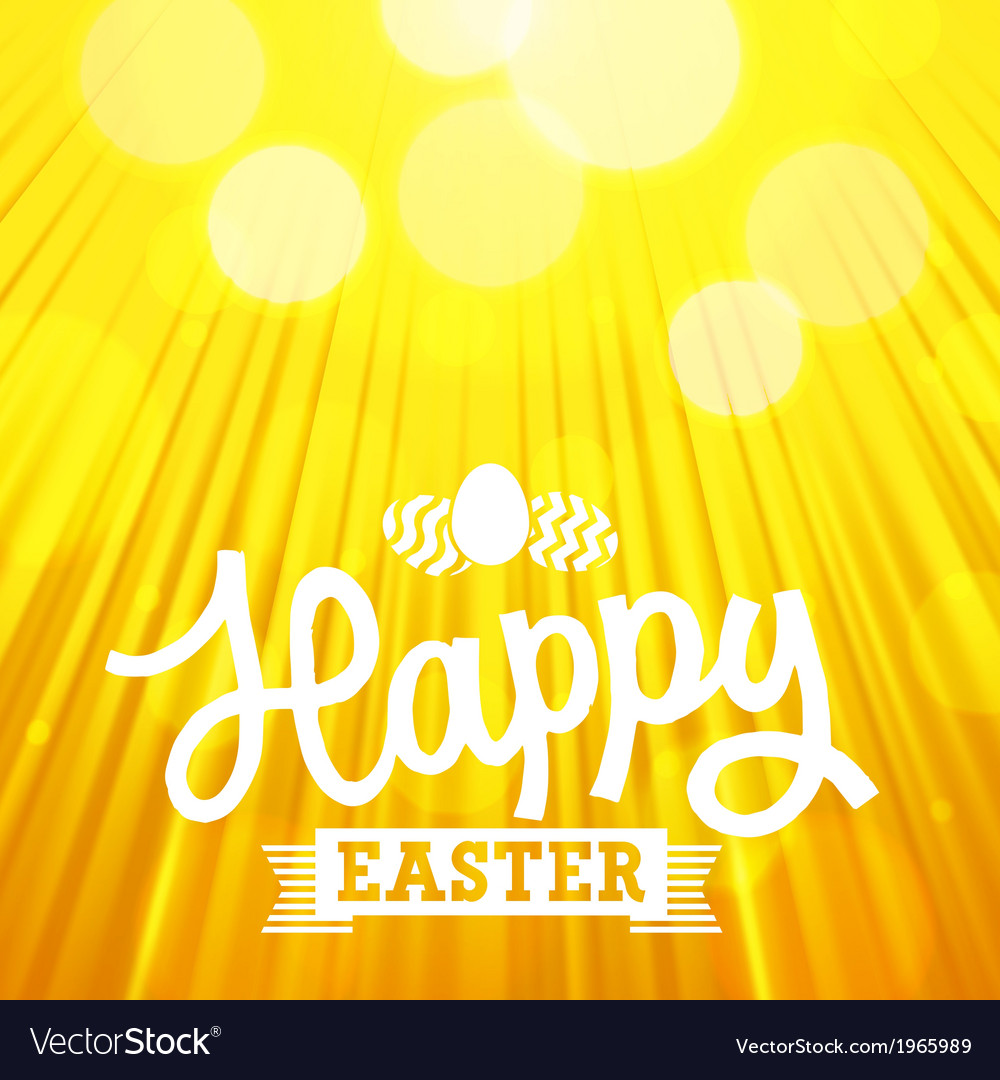 Easter background rays orange vector | Price: 1 Credit (USD $1)