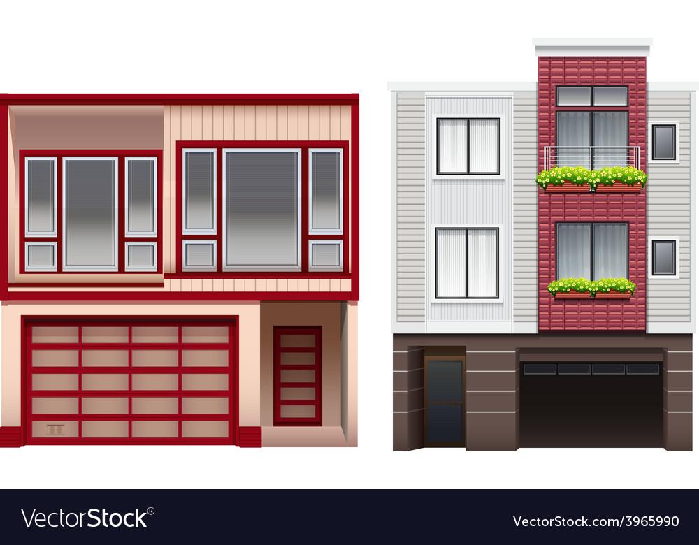 Big buildings vector | Price: 1 Credit (USD $1)