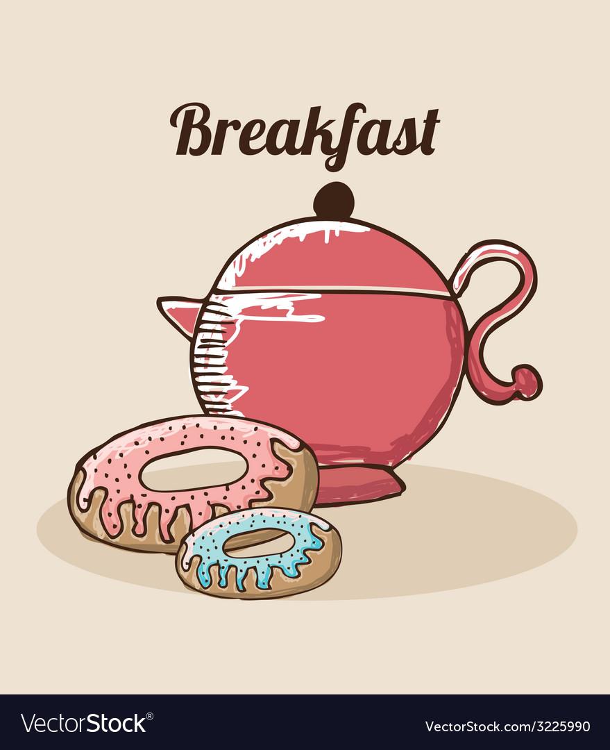 Breakfast design vector | Price: 1 Credit (USD $1)