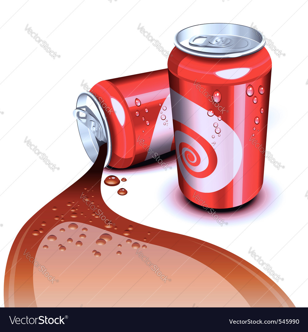Cola can vector | Price: 3 Credit (USD $3)