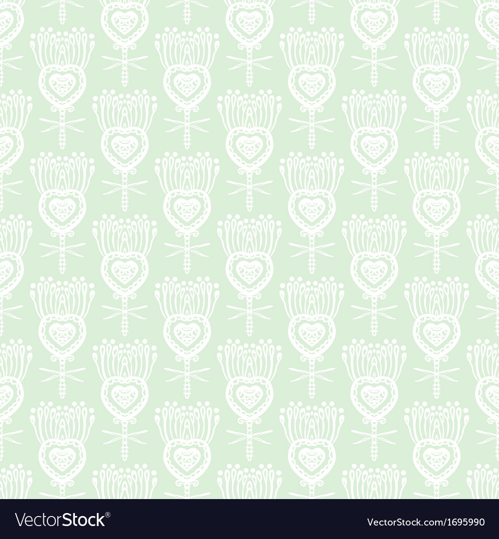 Floral pattern with ethnic indian motifs vector   Price: 1 Credit (USD $1)