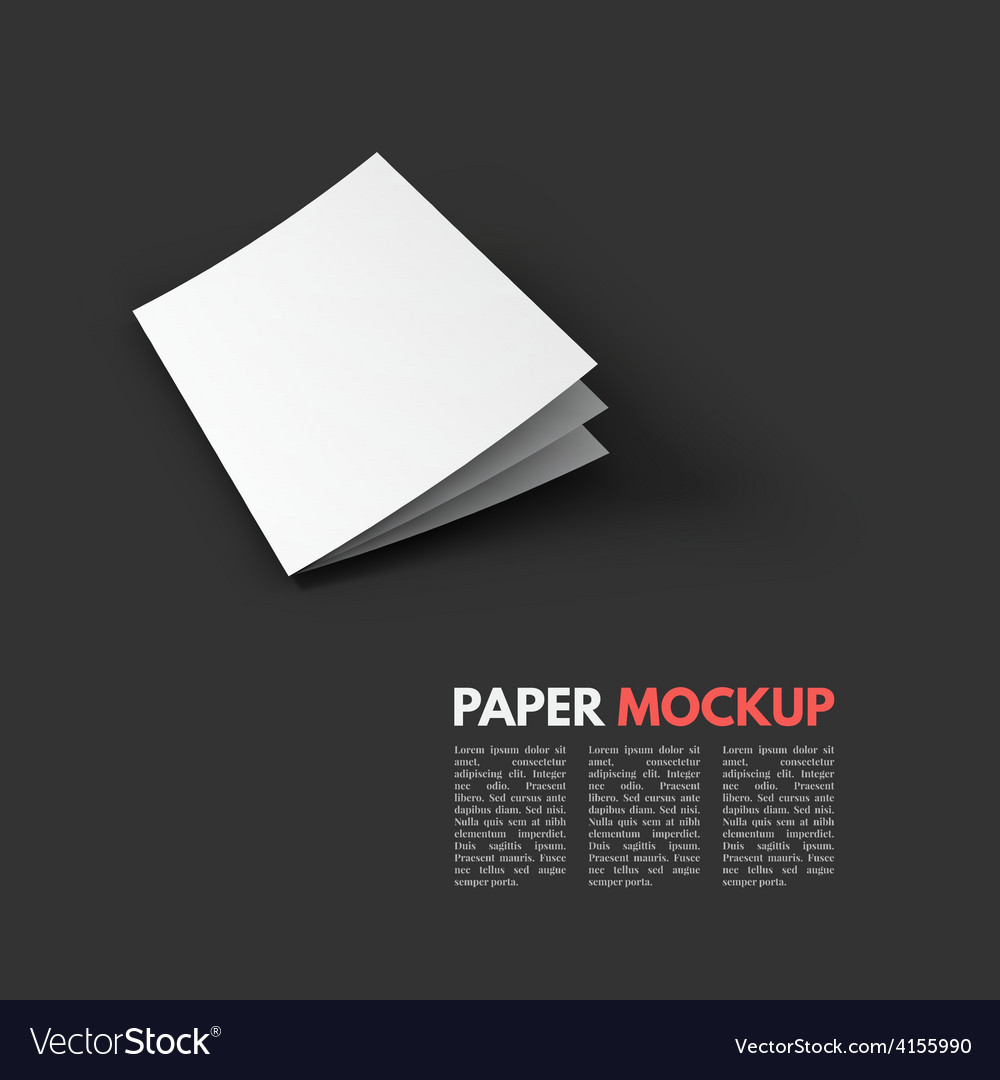 Magazine booklet postcard business card or vector | Price: 1 Credit (USD $1)