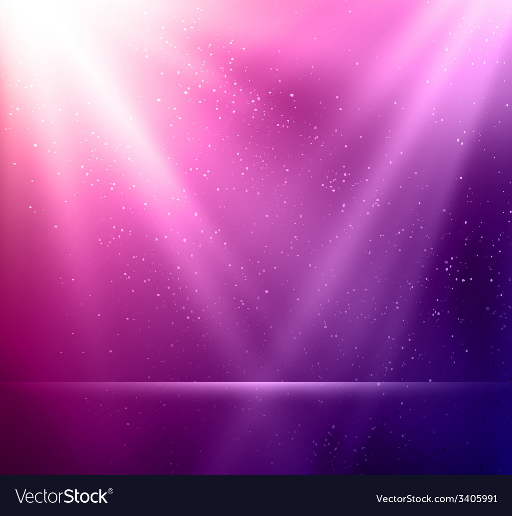 Abstract magic violet light background vector | Price: 1 Credit (USD $1)