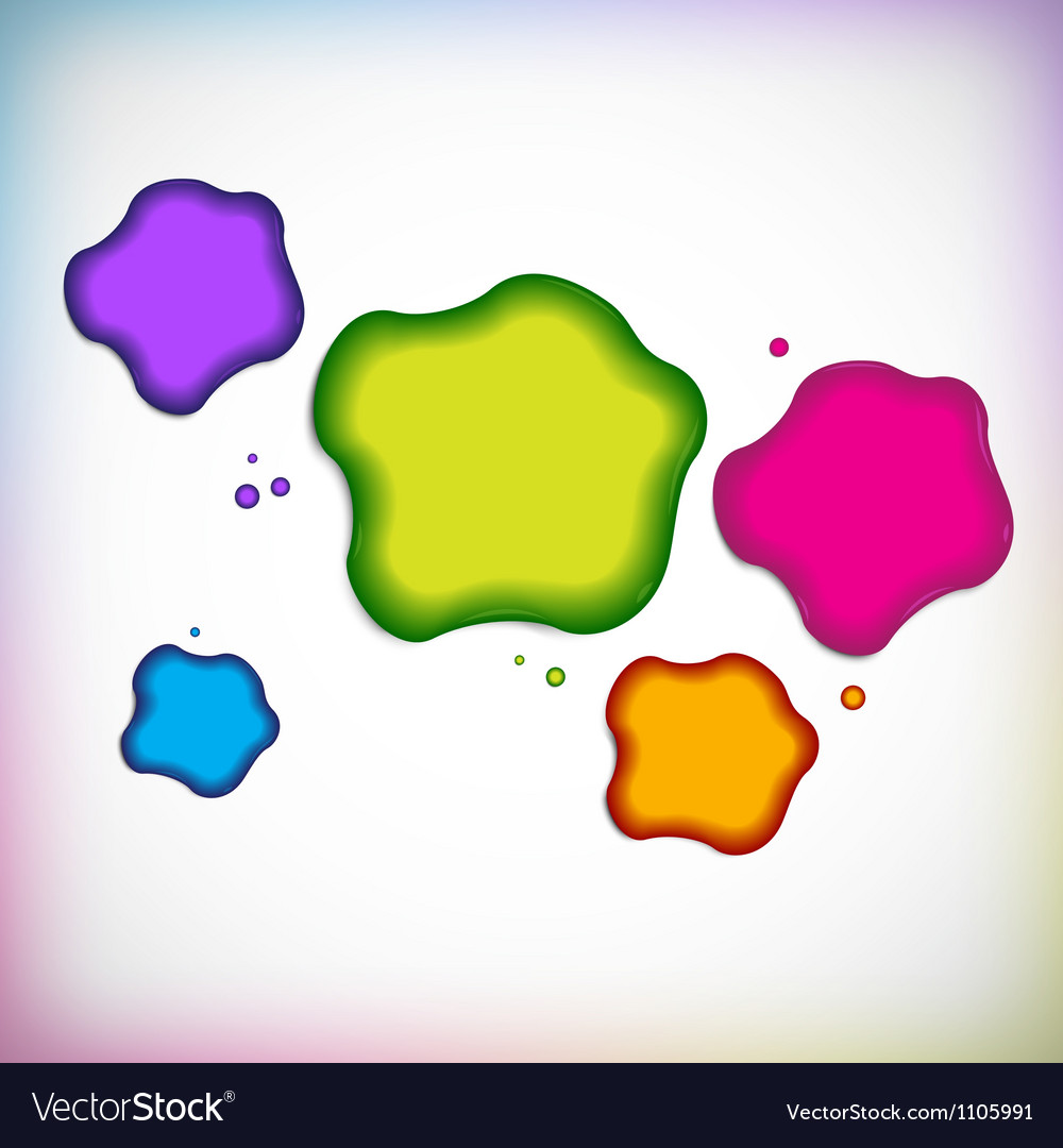 Background with blob vector | Price: 1 Credit (USD $1)