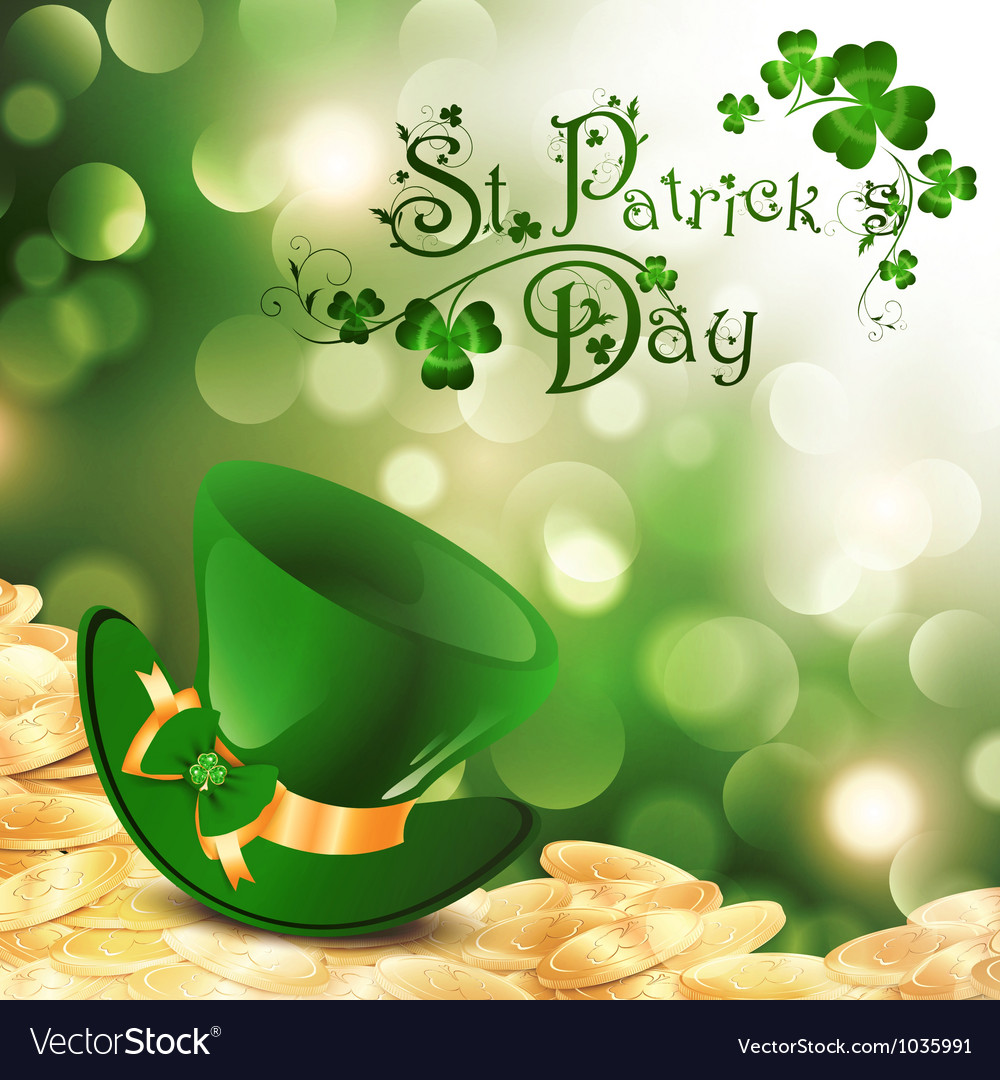 St patrick holiday vector