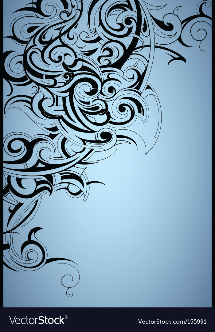 Tattoo print background vector | Price: 1 Credit (USD $1)