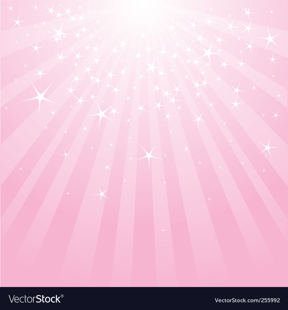Abstract pink stars and stripes vector | Price: 1 Credit (USD $1)