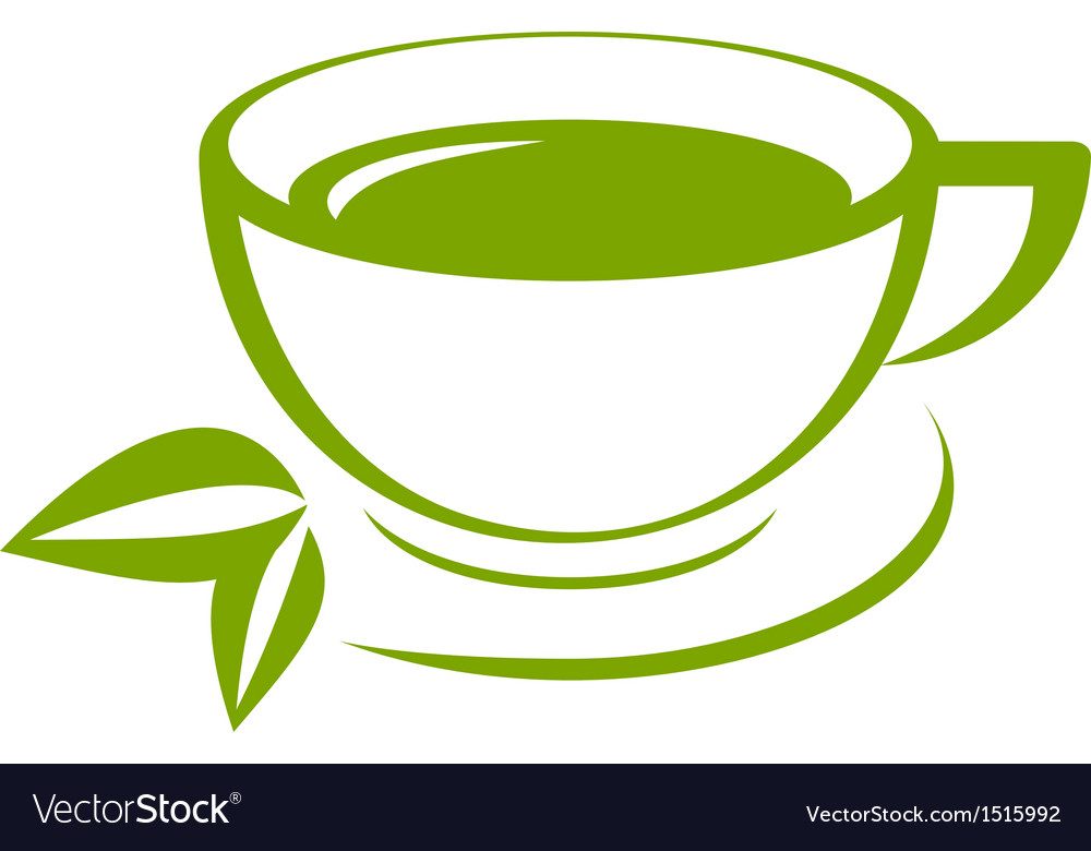 Green tea icon vector | Price: 1 Credit (USD $1)