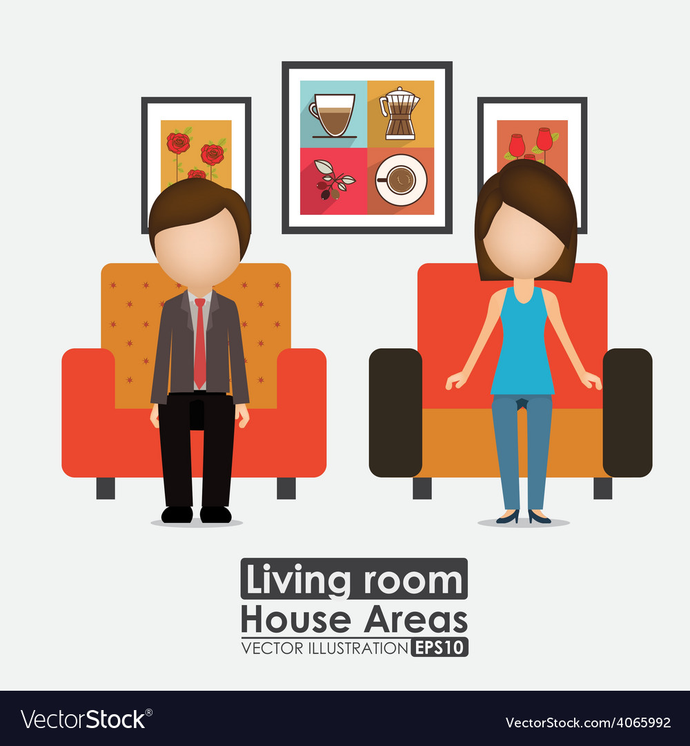 House areas desing vector | Price: 1 Credit (USD $1)