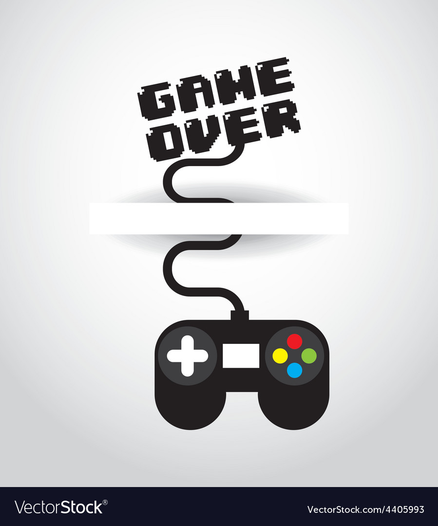Video game vector | Price: 1 Credit (USD $1)