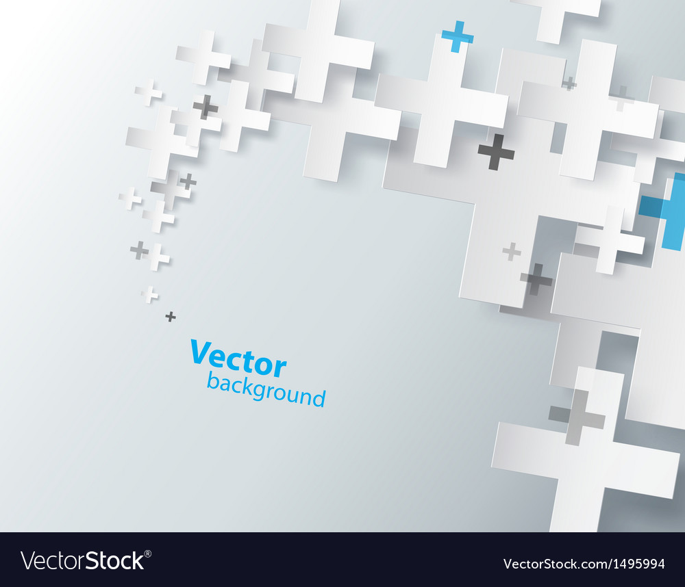 Abstract background created with plus sign vector | Price: 1 Credit (USD $1)